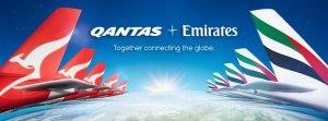Qantas & Emirates Partnership launches 31 March 2013