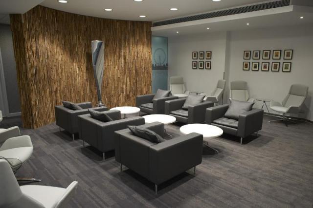 Delta Air Lines Arrivals Lounge, London Heathrow