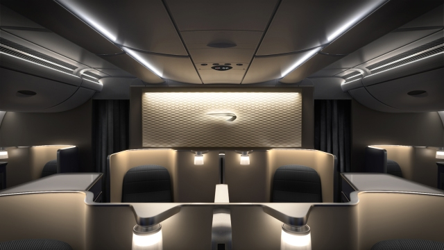 British Airways, First Class, Airbus, A380