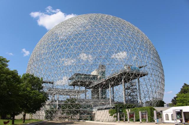 Biosphere, Parc Jean Drapeau, Montreal, Canada