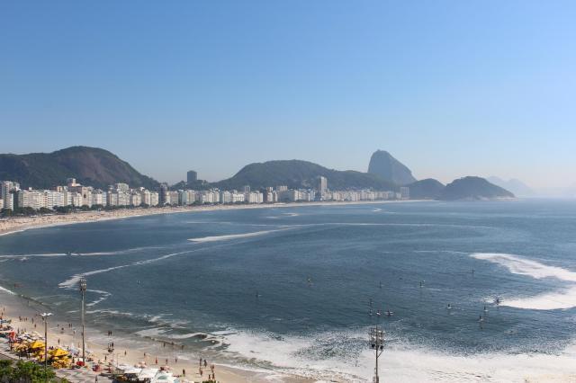 rio de janeiro, brazil, copacabana, beach
