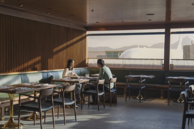 Cathay Pacific, The Pier Hong Kong, Dining Room