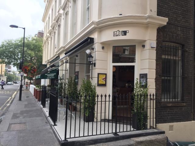 The Kioskafé, Norfolk Place, London