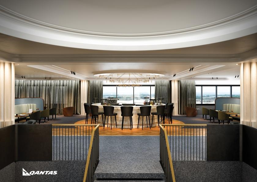 Qantas Lounge, London Heathrow Terminal 3, Opening 2017