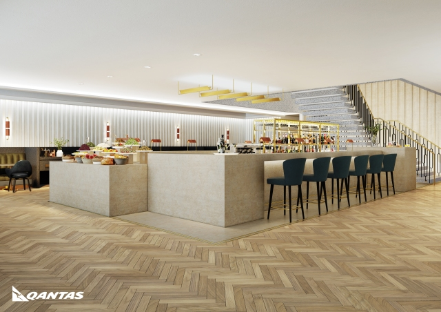 Qantas Lounge, London Heathrow Terminal 3, Opening 2017