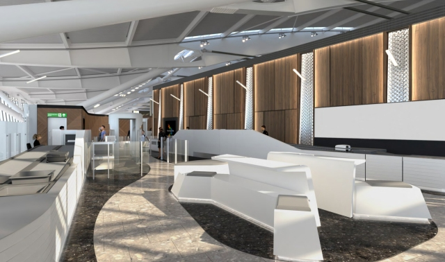 British Airways First Wing, London Heathrow Terminal 5 (Opens April 2017)