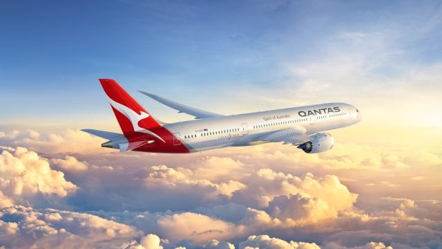 Qantas Boeing 787-900 Dreamliner (Image courtesy of Qantas Airways)