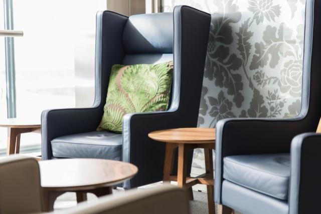British Airways London Heathrow Galleries Club Lounge Furniture