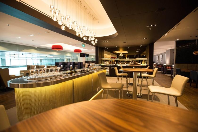 British Airways Lounge Singapore Changi Airport