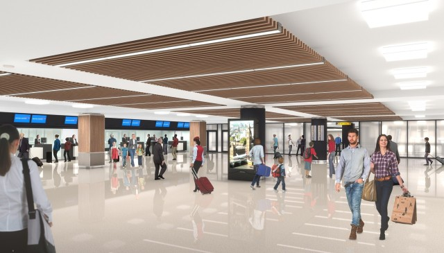 British Airways New York JFK Terminal 7 - Planned Check-In Area