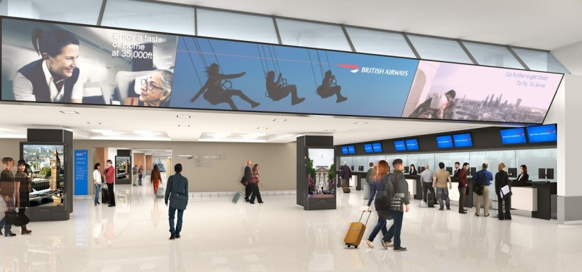 British Airways New York JFK Terminal 7 - Planned Check-In Area (Credit: British Airways)