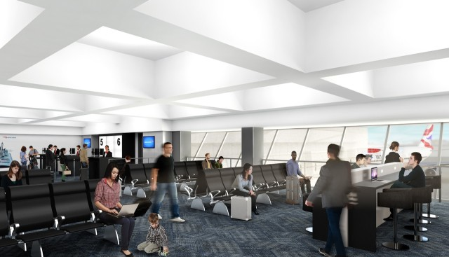 British Airways New York JFK Terminal 7 - Planned Gate Area (Credit: British Airways)