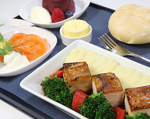 British Airways Economy Catering (Pre-Paid Gourmet Meal)